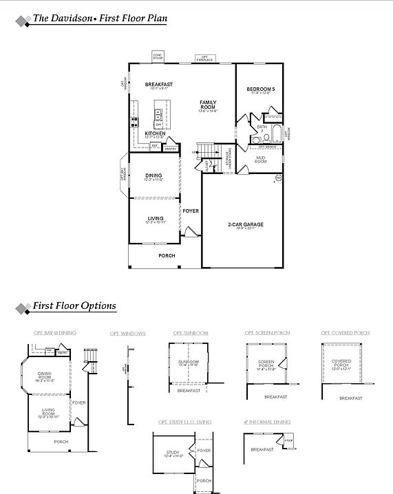 Davidson Robinson Oaks By Eastwood Homes Zillow
