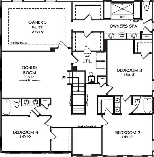 The clairemont reunion country club by john wieland John wieland homes floor plans