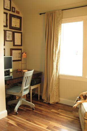 Deluxe Wooden Home Office. Traditional Home Office With Hardwood Floors By  Cris Angsten Zillow Digs
