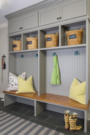 Mudroom Design Ideas 1000 images about mudroom addition ideas on pinterest mud rooms windows p and window design 3 Tags Traditional Mud Room With Slate Tile Floors High Ceiling Built In Bookshelf