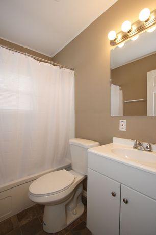 Sherwin williams chelsea mauve full bathroom slate tile for Mauve bathroom ideas