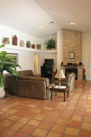 Living Room Terracotta Tile Floors Interior Brick Zillow Digs