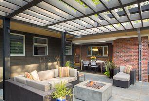 Patio Design Ideas patio design ideas remodels best designing a patio 3 Tags Contemporary Patio With Fire Pit Trellis Exterior Stone Floors