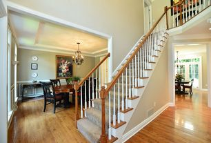 Staircase Design Ideas 18 amazing staircase design ideas 1 Tag Traditional Staircase With Balcony High Ceiling Hardwood Floors Crown Molding