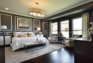 Art deco master bedroom with crown molding chandelier in austin tx zillow digs - Master bedroom deco ideeen ...