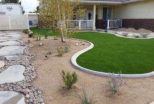 Yard Design Ideas small yards big designs Southwestern Landscapeyard With Fence Exterior Stone Floors Pathway Gate