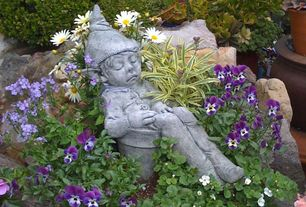 Yard Design Ideas home interior design 2 Tags Traditional Landscapeyard With Campania International Joe The Elf Cast Stone Garden Statue