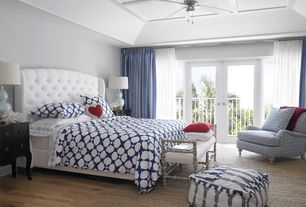 Master Bedroom Design Ideas expansive elegant master bedroom photo in minneapolis with carpet and blue walls 8 Tags Transitional Master Bedroom With Cadiz Tribal Cotton Pouf Ottoman Ceiling Fan Wide Plank Flooring