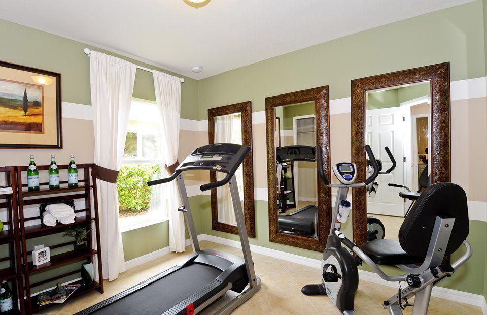 Home Gym Ideas Small Area