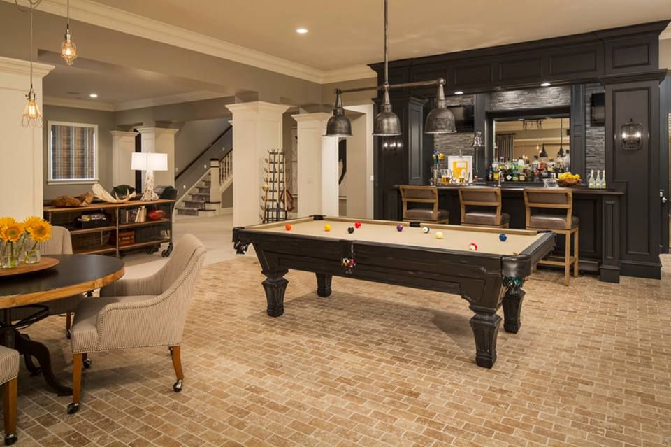Game Room Design Ideas game room design ideas 3 Tags Traditional Game Room With Pendant Light High Ceiling Limestone Tile Floors Columns