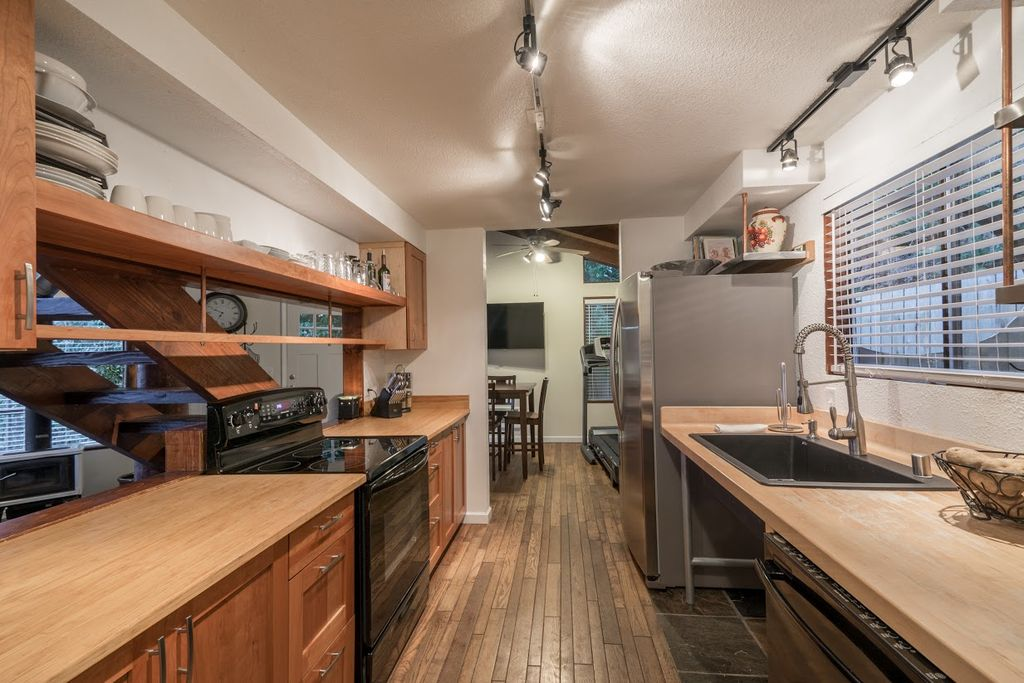 Rustic Kitchen With Galley By Nick Graves Zillow Digs