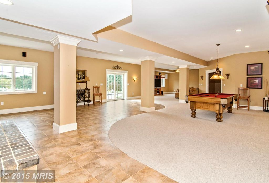 Traditional Game Room In Gaithersburg Md Zillow Digs