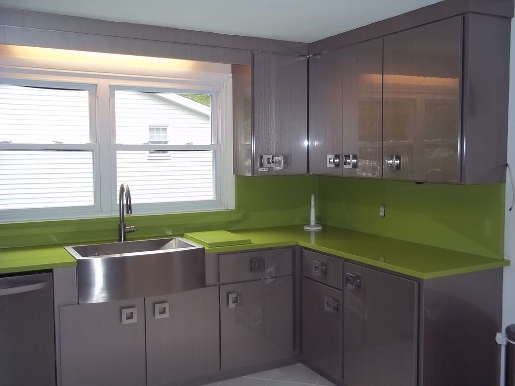 Contemporary Kitchen with European Cabinets by Kitchen Tune-Up ...