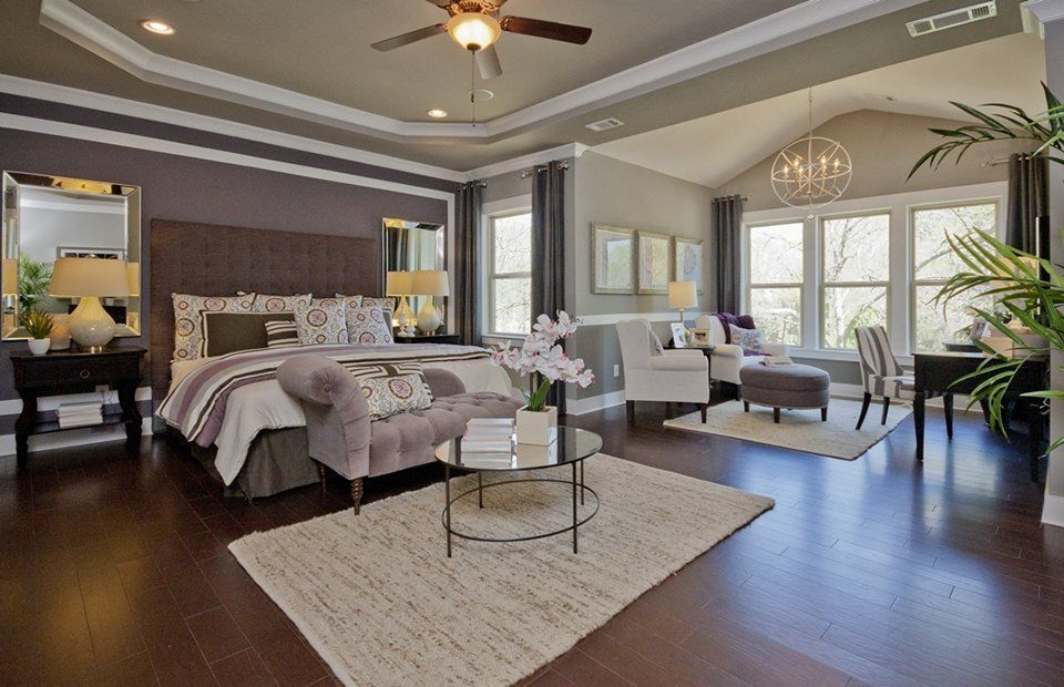 Traditional Master Bedroom With Chandelier Carpet Zillow Digs