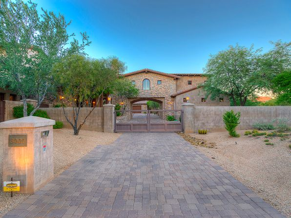 Full guest casita 85255 real estate 85255 homes for for Scottsdale homes for sale with guest house