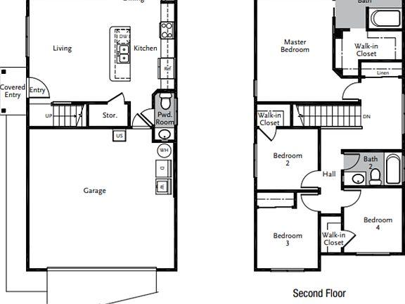 Plan 4 - Nalu Plan, Seabridge, Ewa Beach, HI 96706 Natsunoya Tea House Floor Plan on