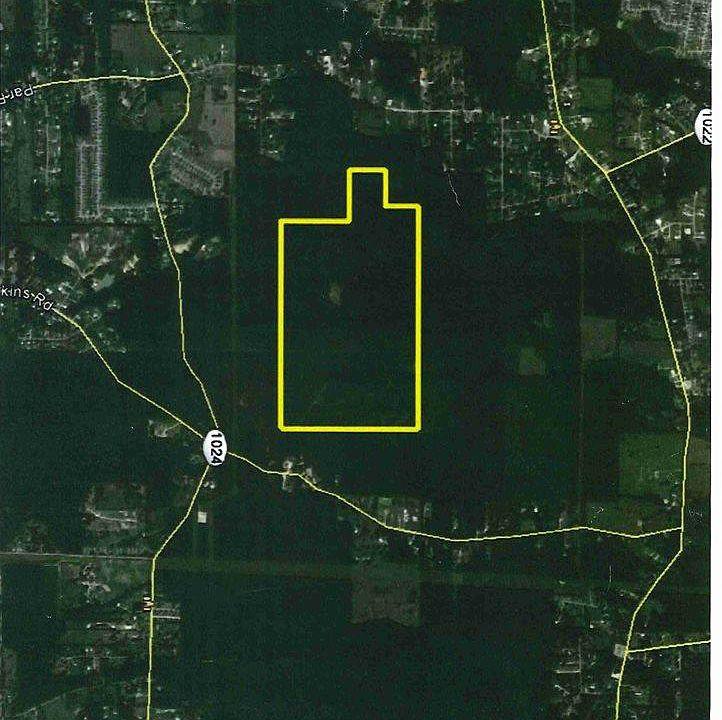 Denham Springs La Map on