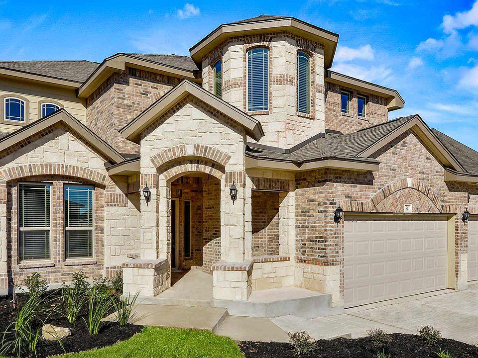 Buildable Plan Wisteria Ii Kallison Ranch Arbors San Antonio Tx 78254