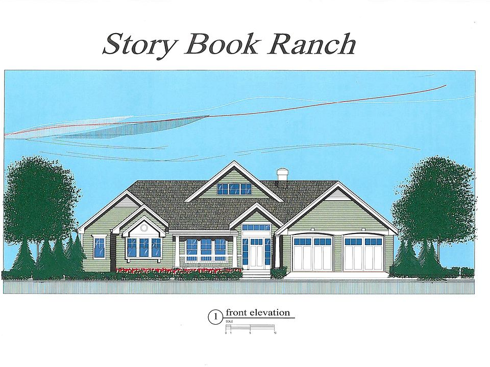 Story Book Ranch Plan, Nottingham Acres, Nesconset, NY 11767 on log cabin plan book, chicken coop plan book, ranch house art, ranch house christmas,