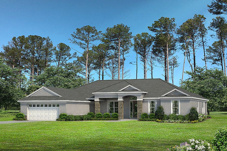 Magnolia Iv Plan Southern Valley Homes