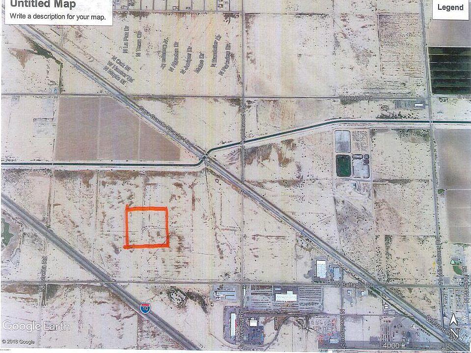 Map Of Eloy Arizona.0 S Battaglia Dr Eloy Az 85131