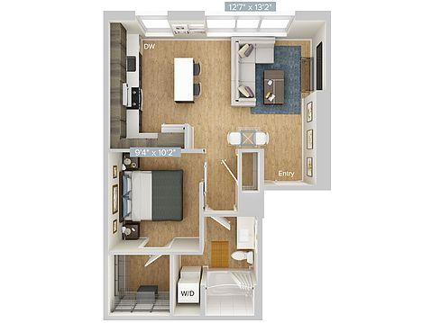 Avalon Belltown Towers Apartment Rentals - Seattle, WA ...