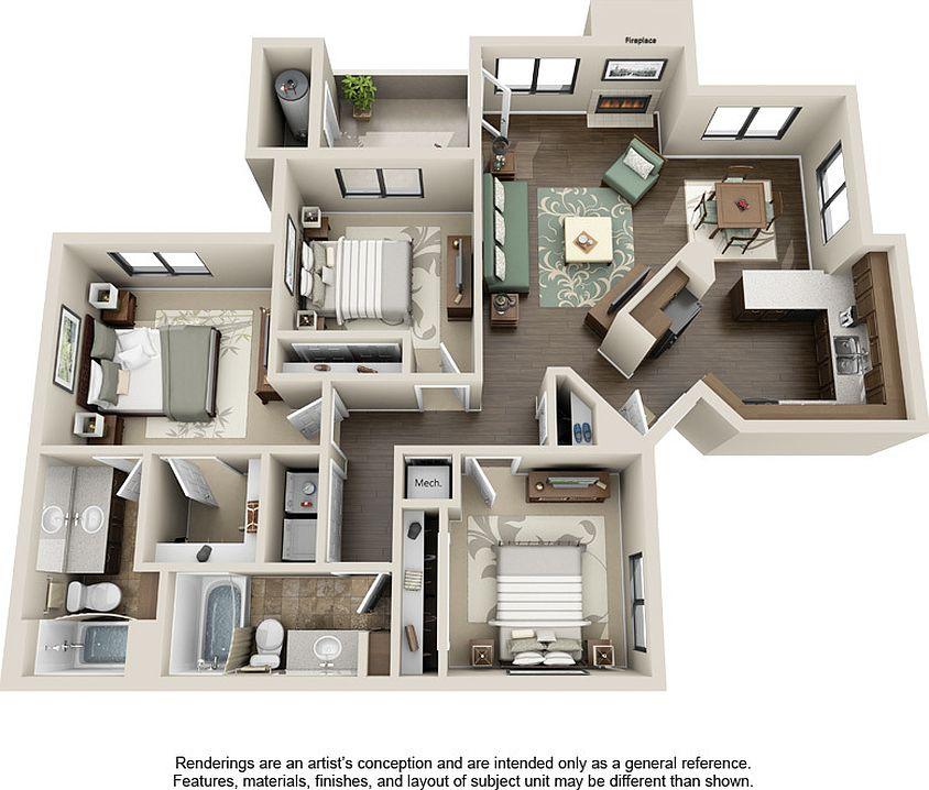 Sonoran apartments phoenix az zillow 1557 per month publicscrutiny Choice Image