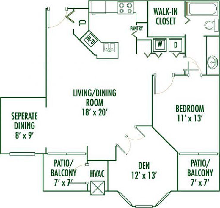 Woodridge Apartments: The Retreat At Seven Bridges Apartments
