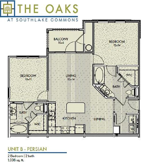 The Oaks At Southlake Commons Apartment Rentals
