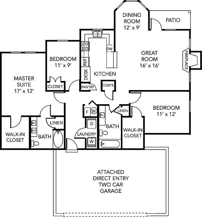 The Retreat At Carmel Apartment Rentals