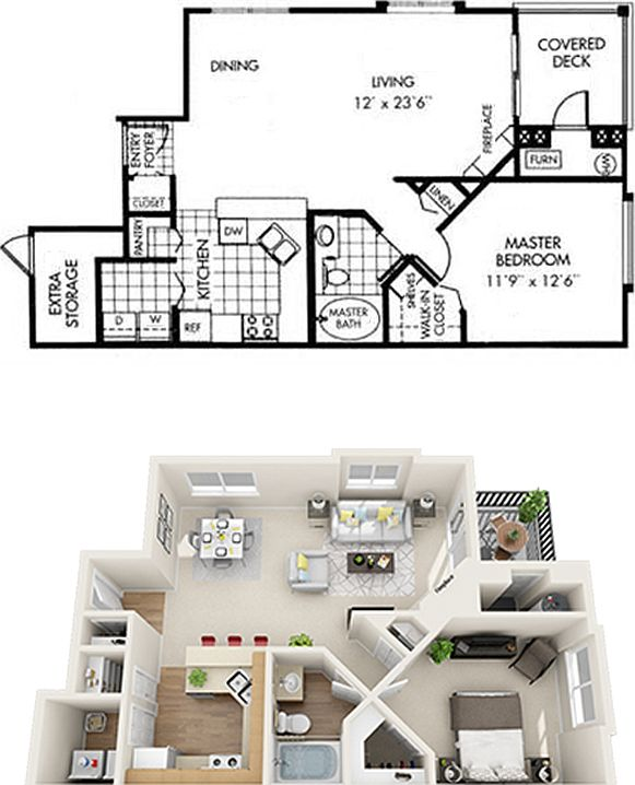 Gsc Apartments: Kallisto At Bear Creek Apartment Rentals