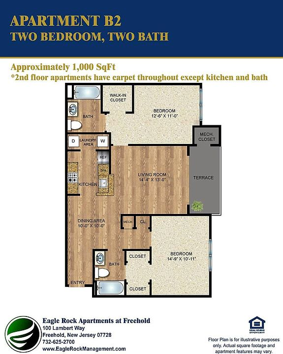 Apartments In New Jersey Zillow: Eagle Rock Apartments At Freehold - Freehold, NJ