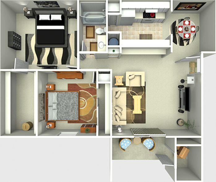 Zillow Apartments Rent: Hanley Place Apartment Rentals - Tampa, FL