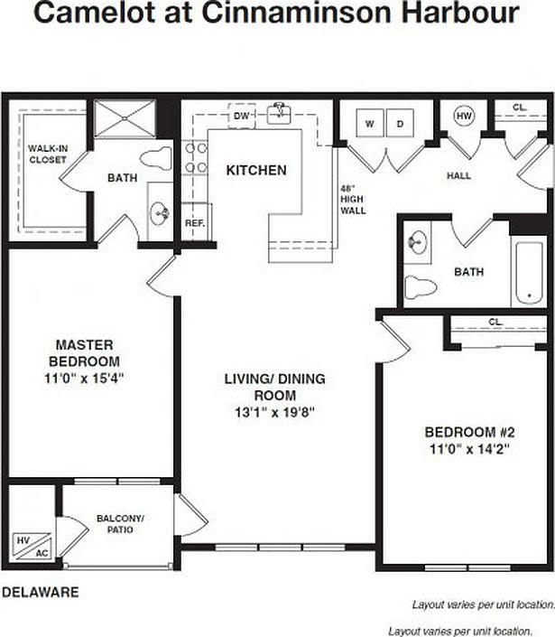 Zillow Rentals Nj: Camelot At Cinnaminson Harbour Apartment Rentals