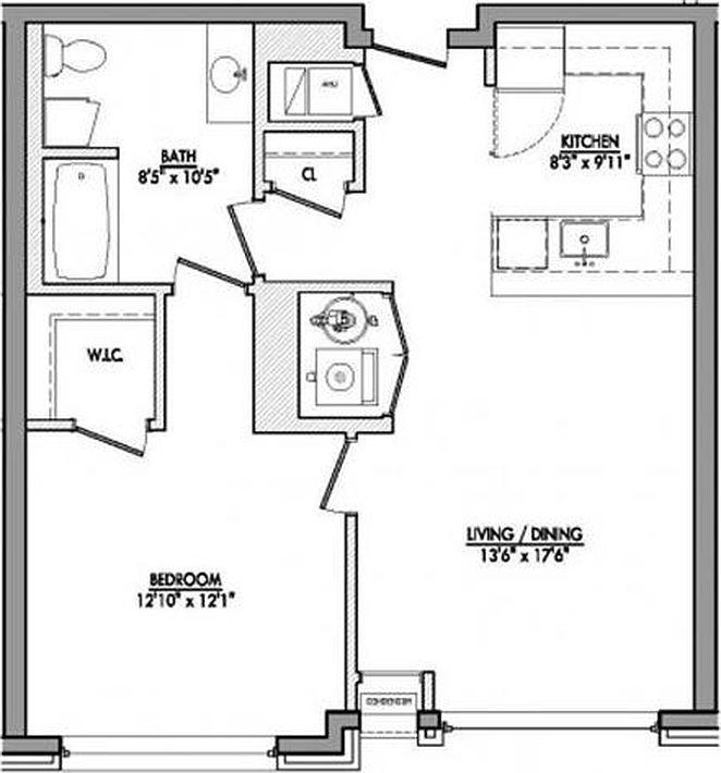 Port Imperial Apartments: Riverbend At Port Imperial Apartments