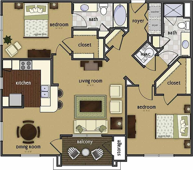 Broadmoor Apartments: Broadmoor Hills Apartments - Elkhorn, NE