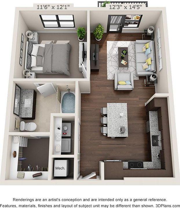 Zillow Apartments Rent: Hillstone River Walk Apartment Rentals