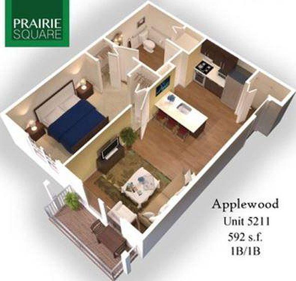 Highland Square Apartments: Prairie Square Apartment Rentals - Highland, IN