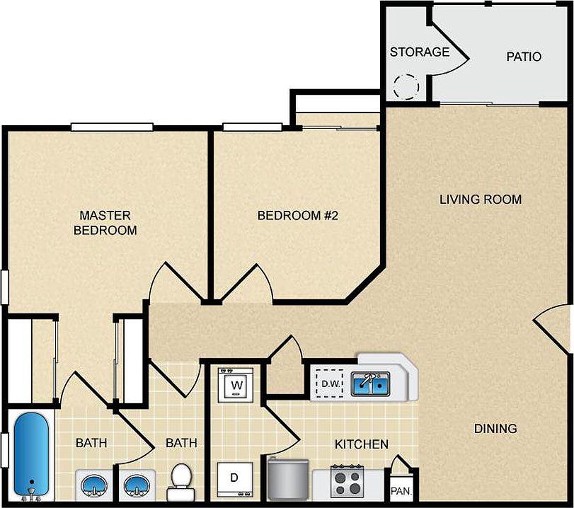 Colonia Del Sol Apartment Rentals - Phoenix, AZ