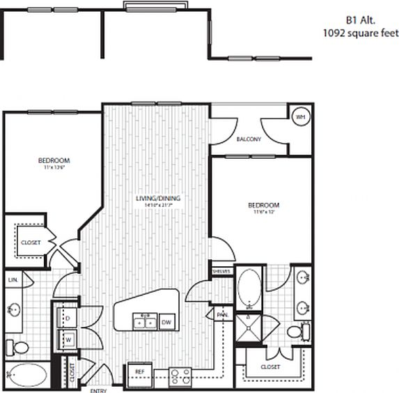 Millennium Six Pines Apartments: Millennium Six Pines Apartment Rentals