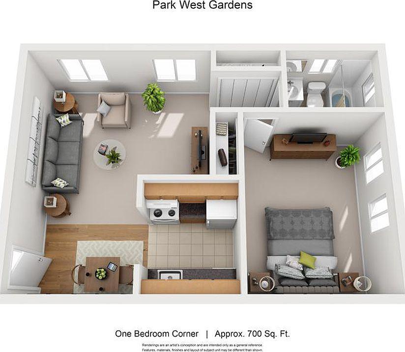 Park West Gardens Apartment Rentals