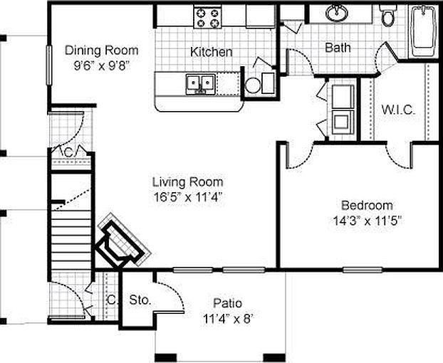 Woods of Britton Apartment Rentals - Fishers, IN | Zillow