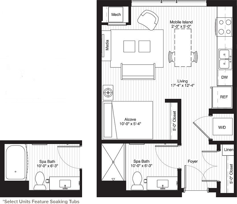 Zillow Apartments Rent: Latitude 45 Apartment Rentals - Minneapolis, MN