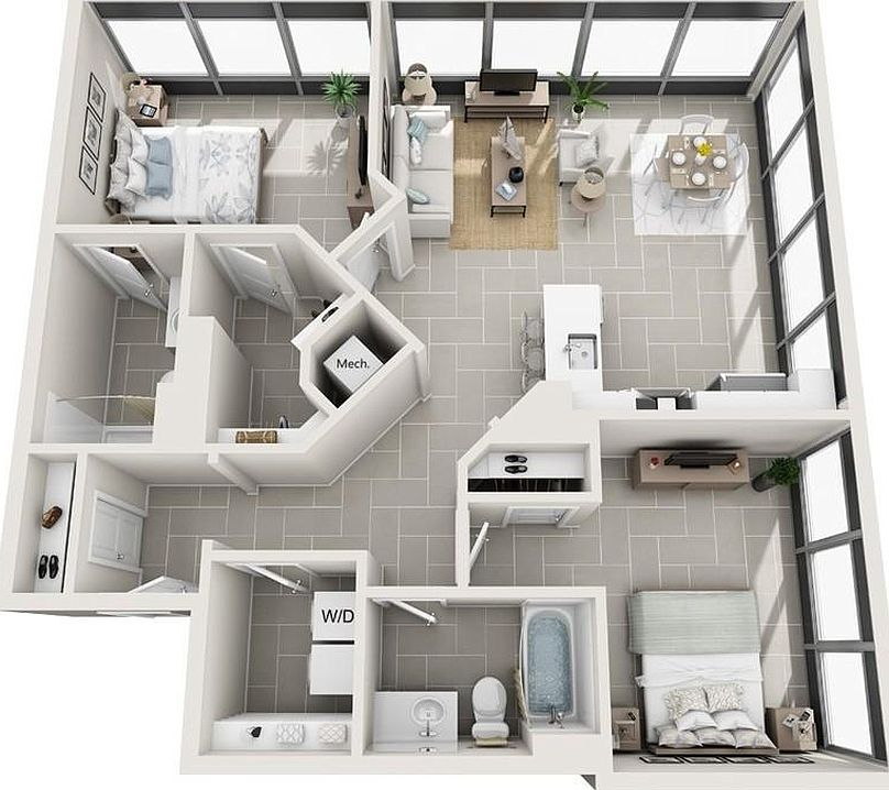 Zillow Apartments Rent: Icon Norfolk Apartment Rentals - Norfolk, VA