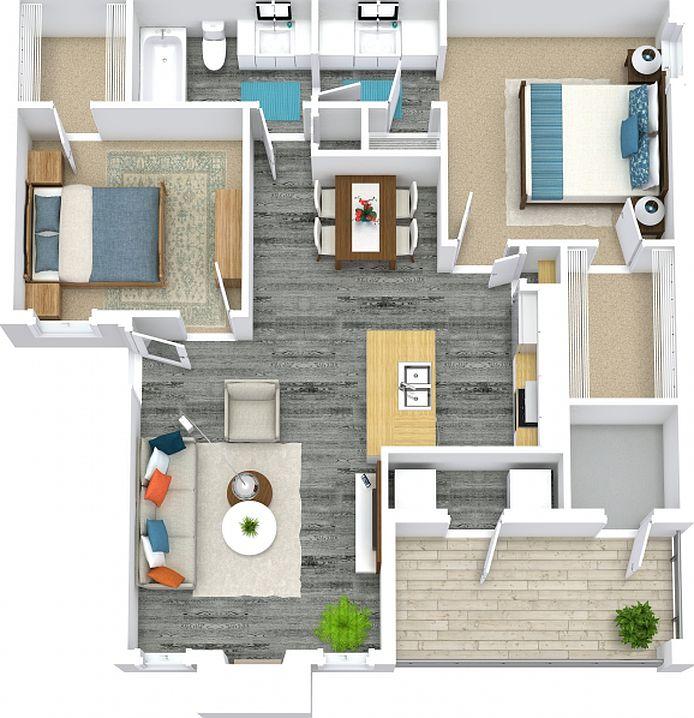 Zillow Apartments Rent: Versailles And Crestmont Reserve Apartment Rentals