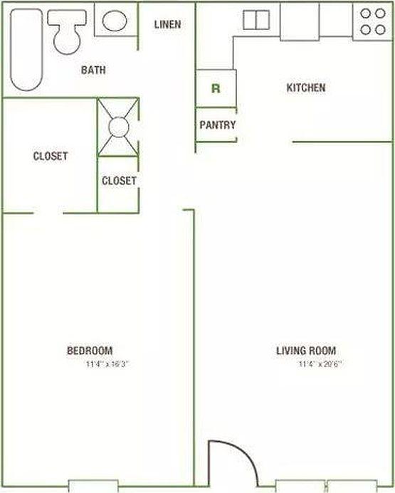 Zillow Apartments Rent: The Avenue Apartment Rentals - Greensboro, NC