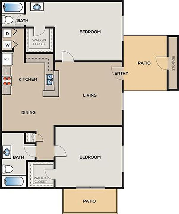 City Gate Apartments: City Gate At Champions Apartment Rentals