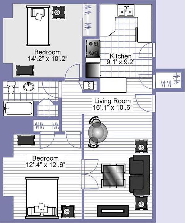 Zillow Com Nj: Parkdale 24 Apartment Rentals - Clayton, MO