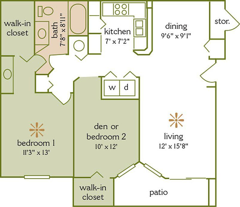 Addison Park At Cross Creek Apartment Rentals