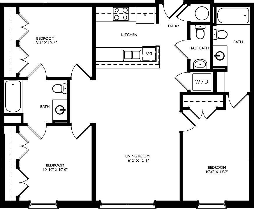 Cedar Broad Apartment Rentals
